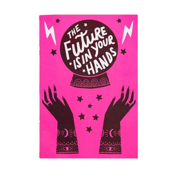 The Future Is In Your Hands A4ish Notebook