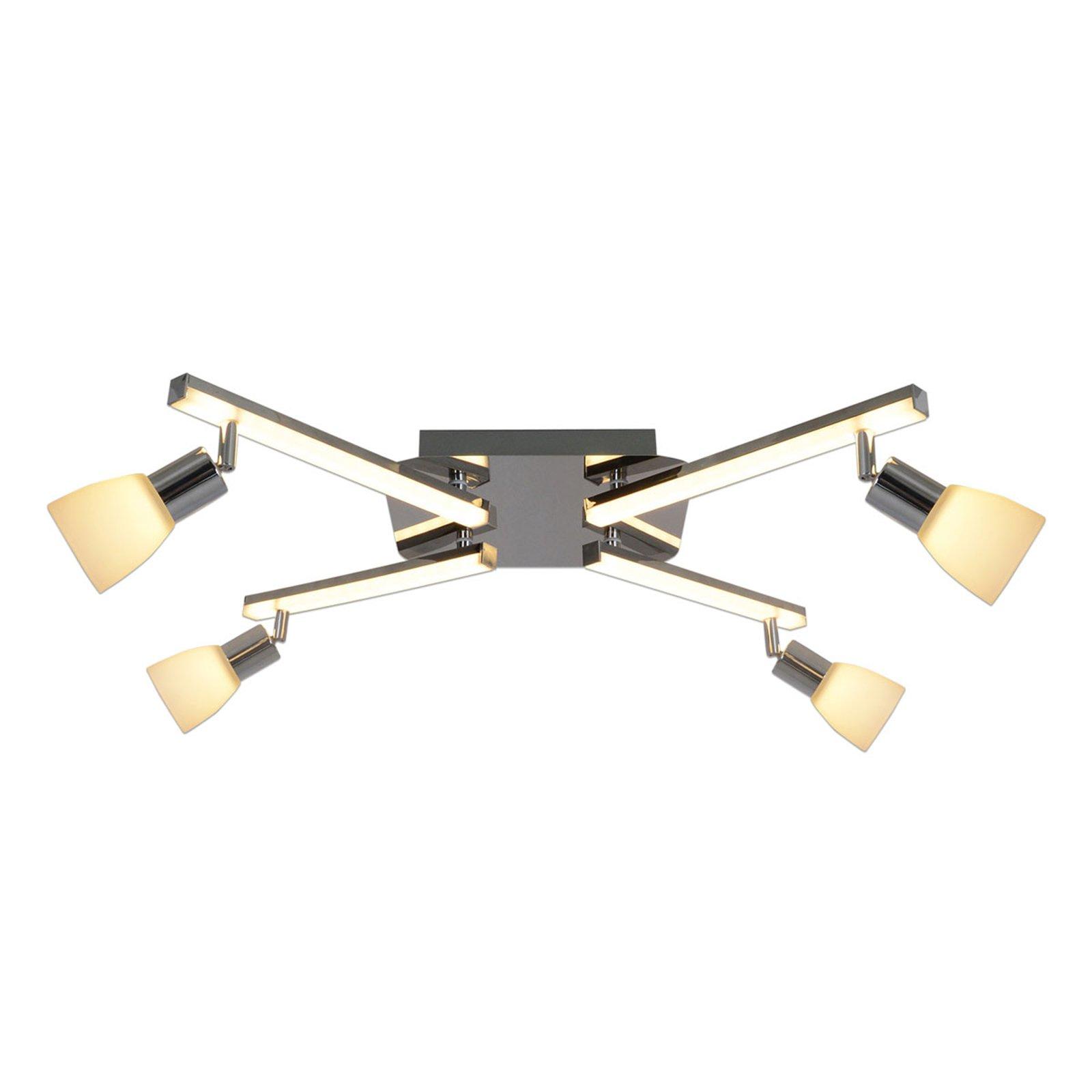 Ibiza LED-taklampe 4 lyskilder