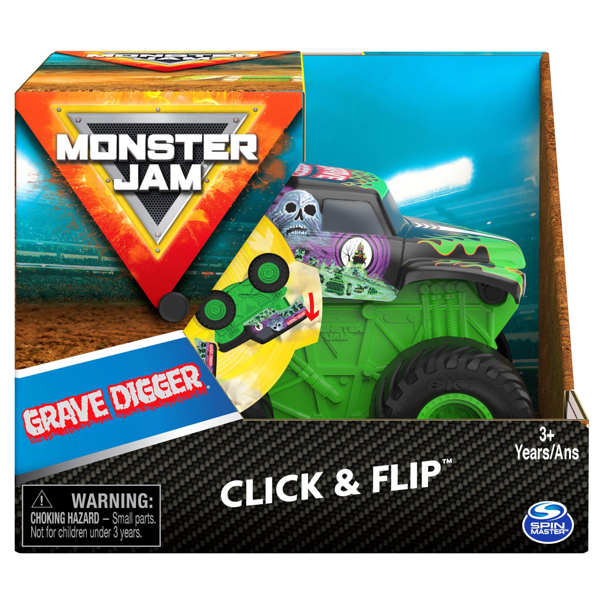 Monster Jam - Click & Flip 1:43 - Grav Digger