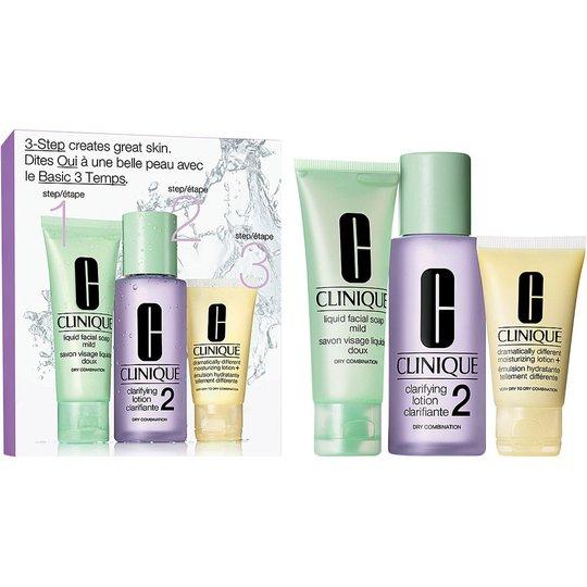 Clinique 3-Step Skin Care Intro Set, Skin Type 2, Clinique Ihonhoitopakkaukset