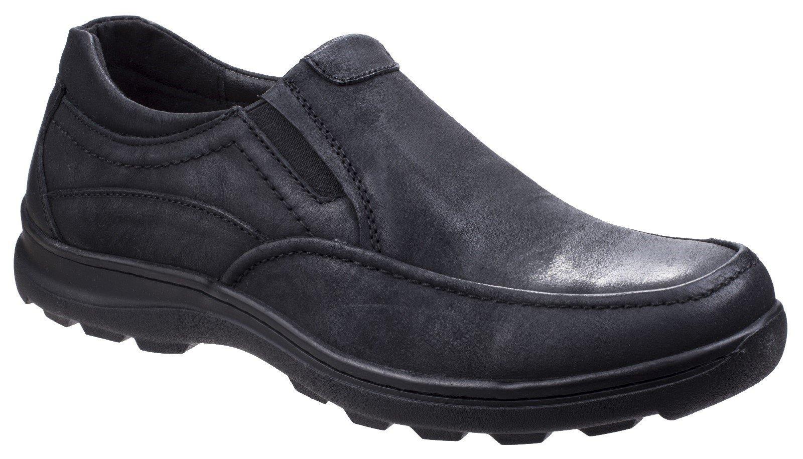 Fleet & Foster Men's Goa Slip On Shoe Black 26315-43925 - Black 7
