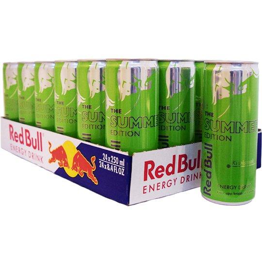 """Hel Platta Red Bull """"Summer Edition"""" 24 x 250ml - 55% rabatt"""