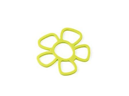Underlag blomst lime silikon
