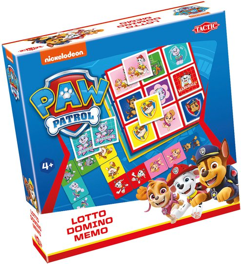 Tactic Spill Paw Patrol 3-I-1
