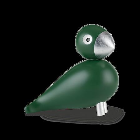 Sångfågel Georg grön/silver