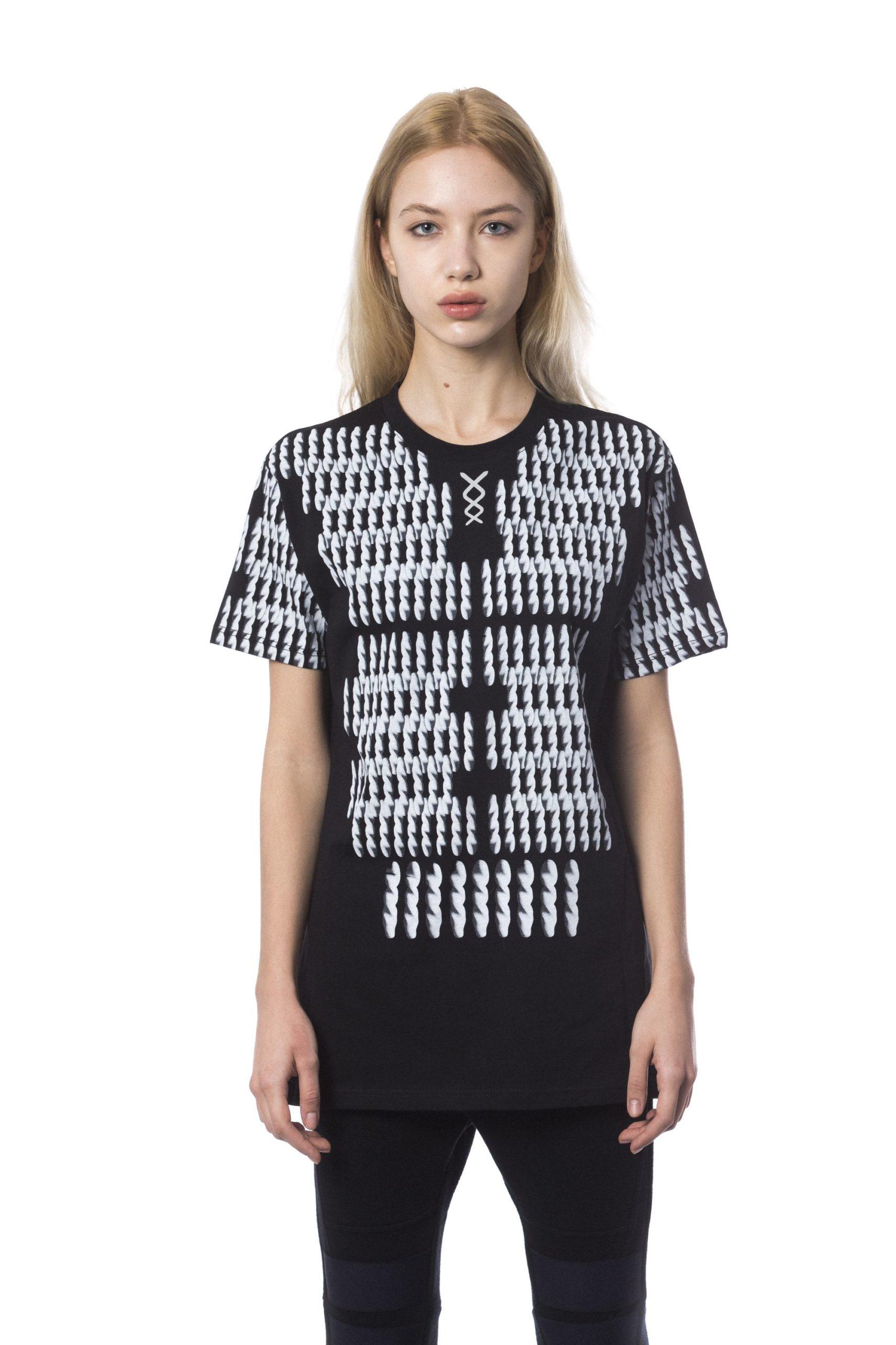 Nicolo Tonetto Men's Nero T-Shirt Black NI1281081 - XL