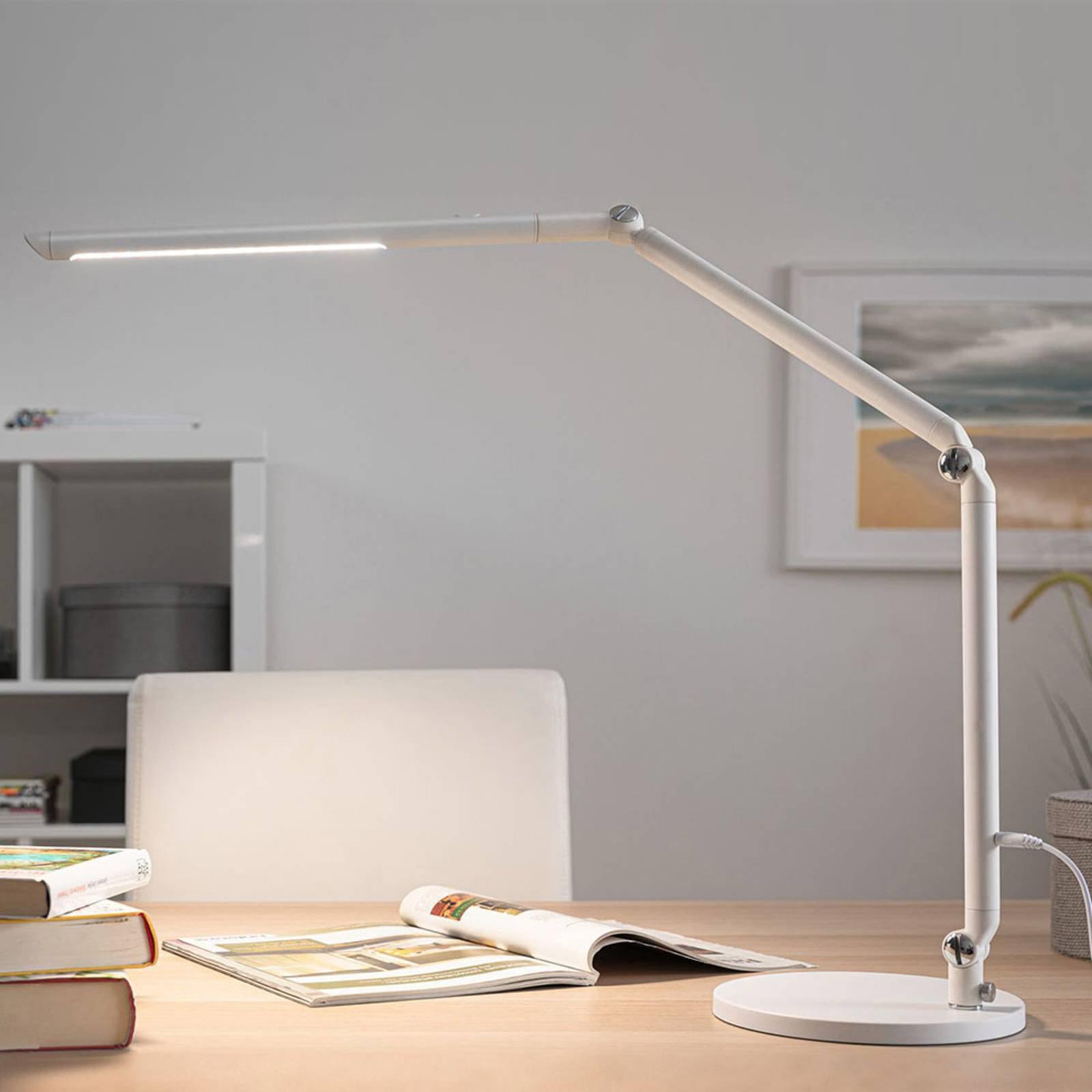 Paulmann FlexBar LED-skrivebordslampe hvit