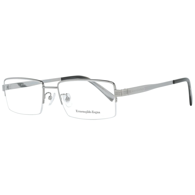 Ermenegildo Zegna Men's Optical Frames Eyewear Silver EZ5065-D 55012