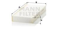 Raitisilmasuodatin MANN-FILTER CU 2642