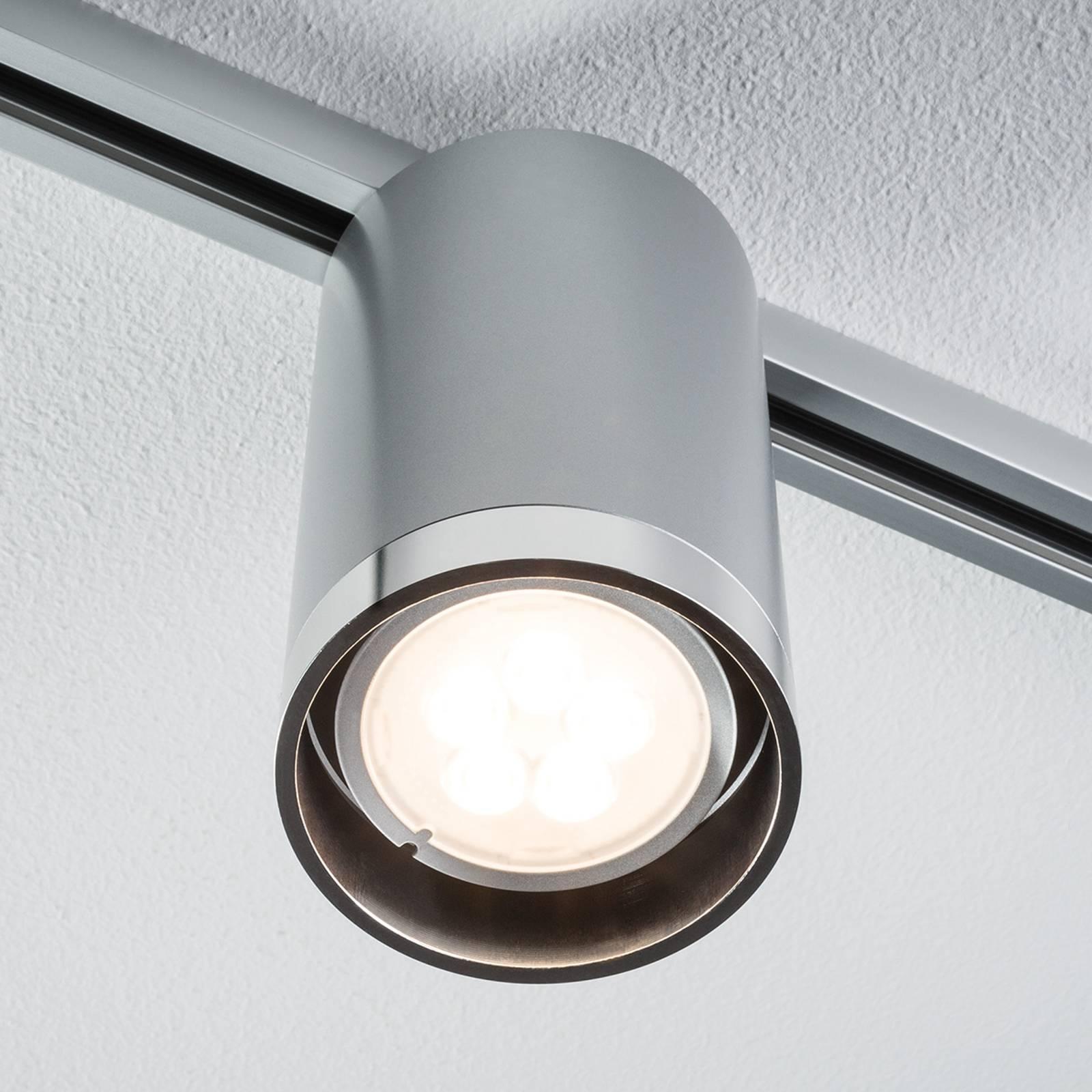 Paulmann URail Tube -LED-kohdevalo, kromi 6,5 W