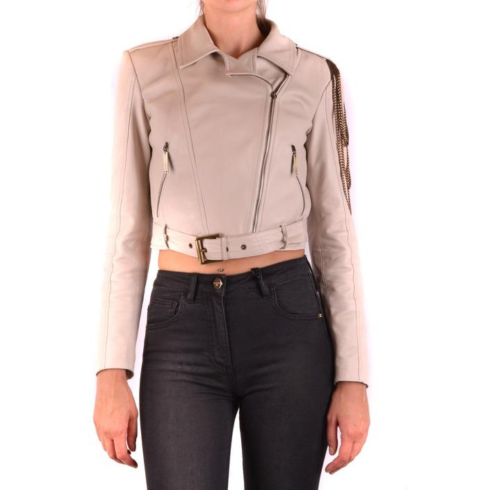 Elisabetta Franchi Women's Jacket Beige 163951 - beige 42
