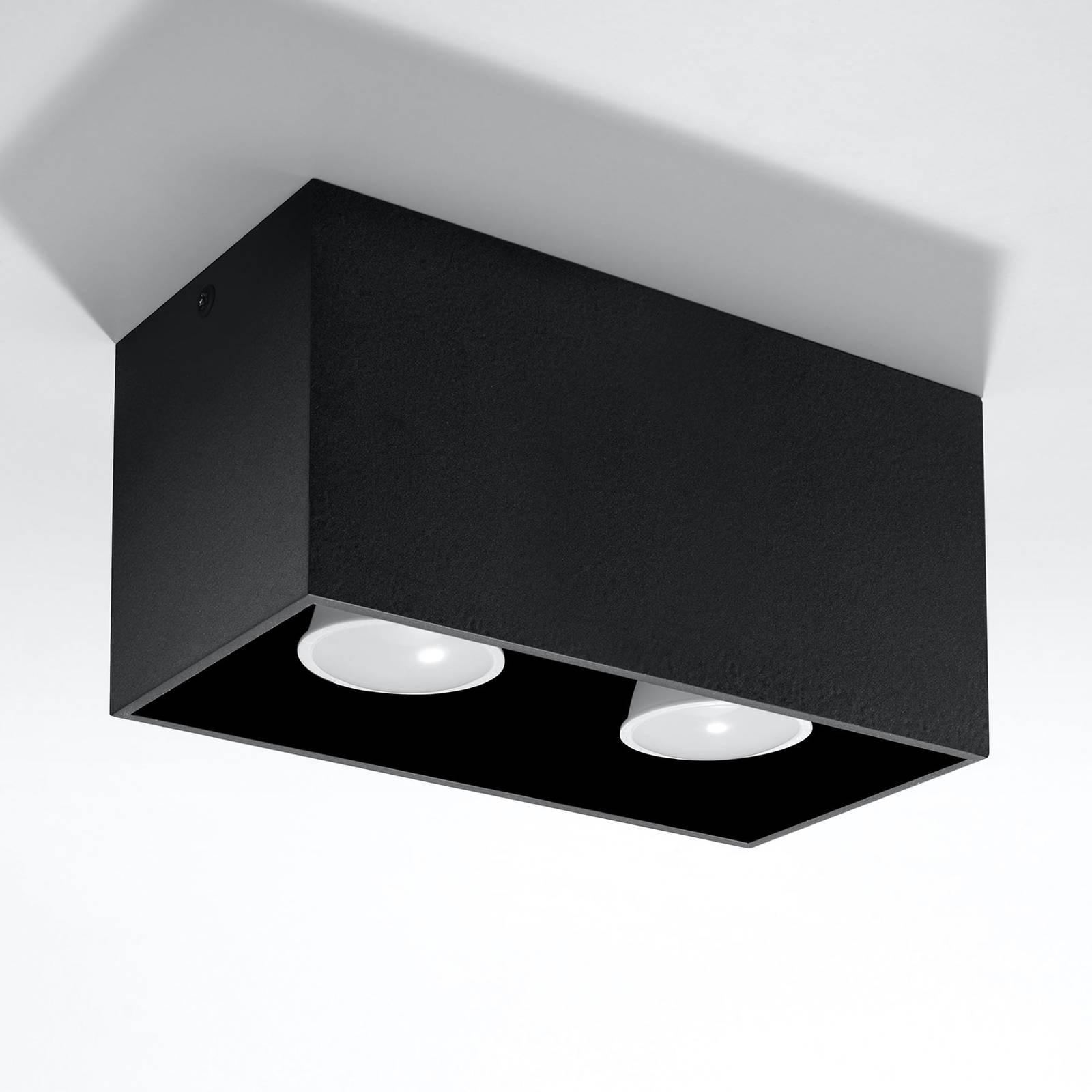 Kattovalaisin Ara Maxi alumiinia, musta