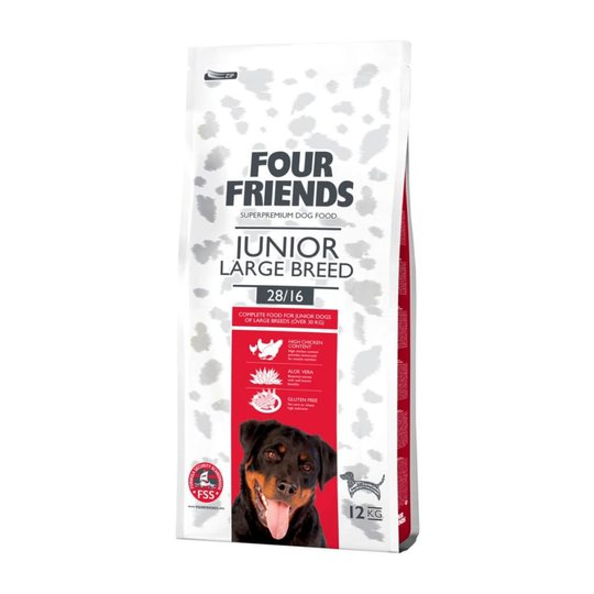 FourFriends Dog Junior Large Breed (12 kg)