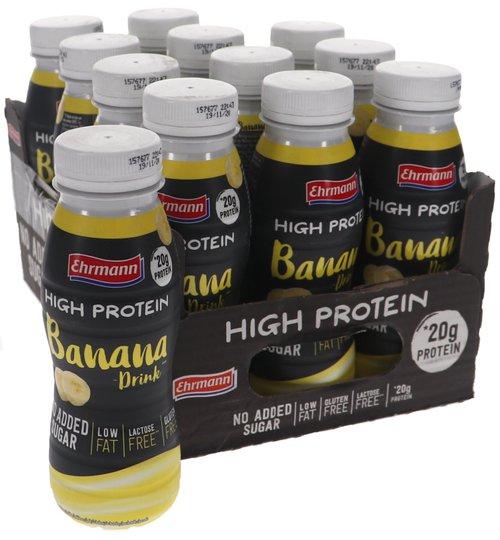 Proteindryck Banan 12-pack - 41% rabatt