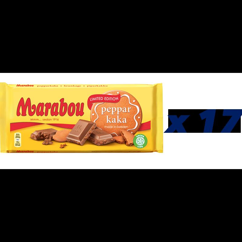 Marabou Pepparkaka 17-pack - 72% rabatt