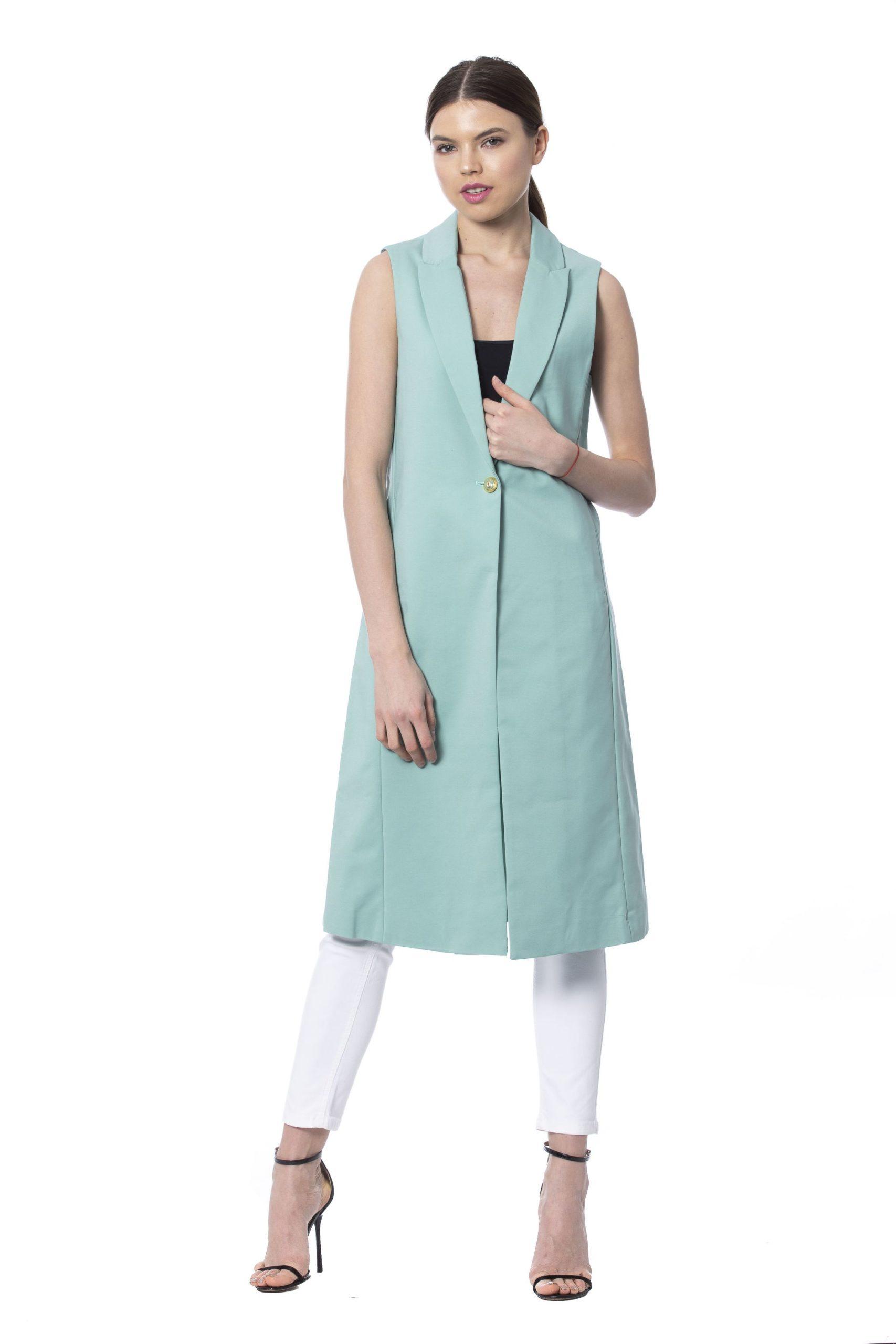 Silvian Heach Women's Jackets Teal SI994780 - XS