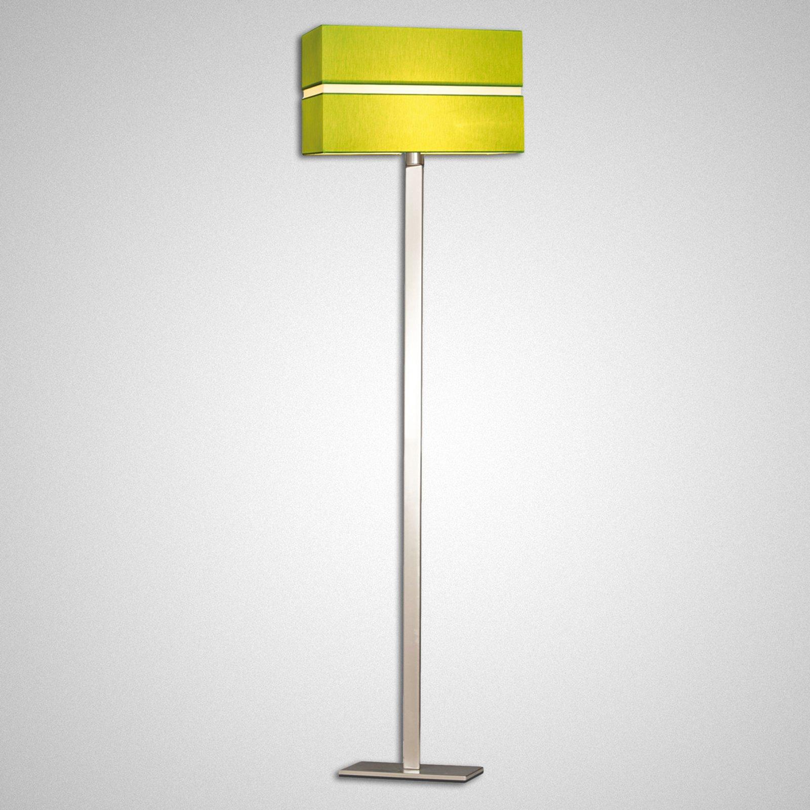 Tekstilgulvlampe Nimbo i aktuelt design