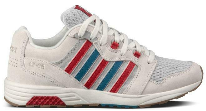 K-Swiss Men's SI 18 Rannell Trainers Various Colours 885938895269 - 3.5 UK White