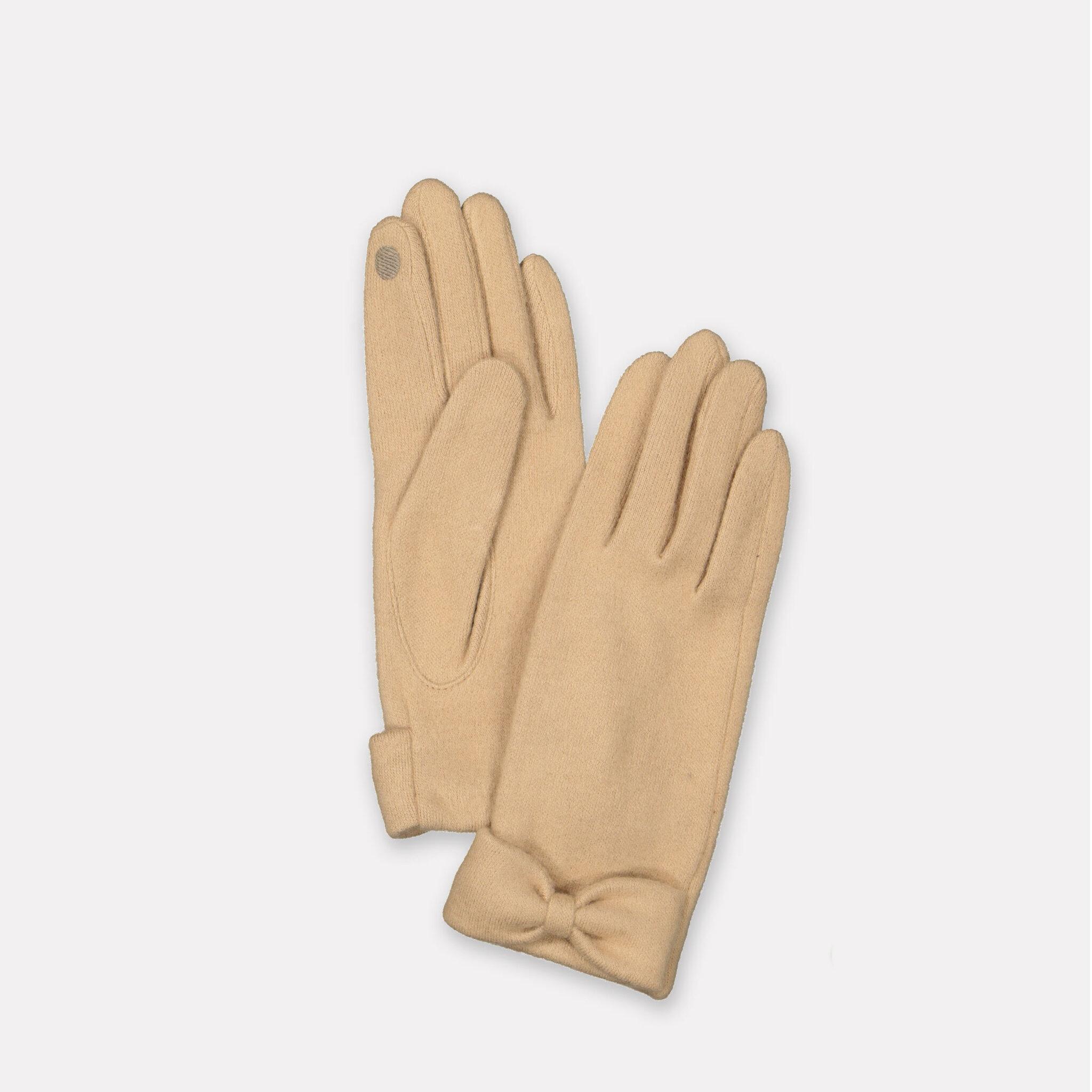 Handskar med rosett