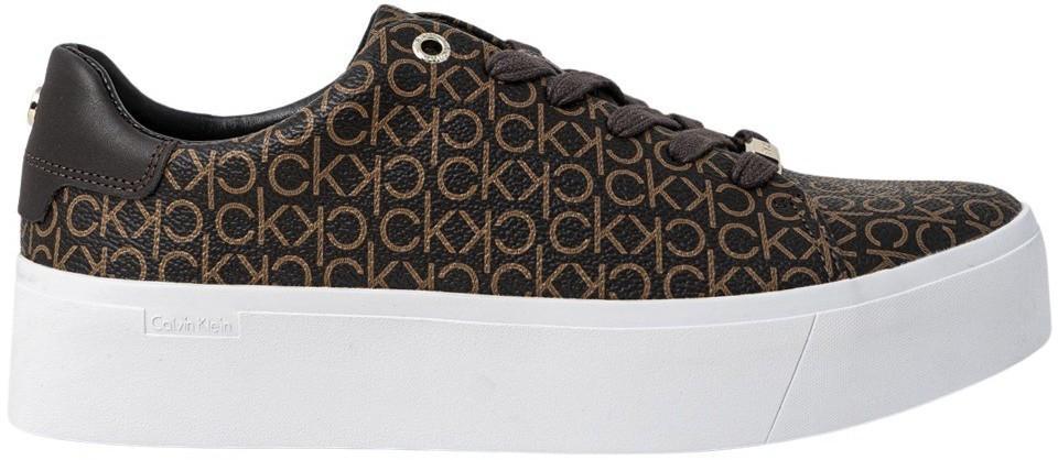 Calvin Klein Jeans Women's Lace Ups Shoes Various Colours 319782 - brown 36