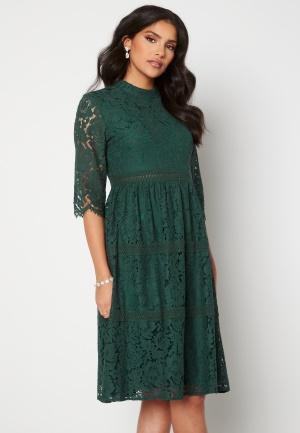 Happy Holly Madison lace dress Dark green 38