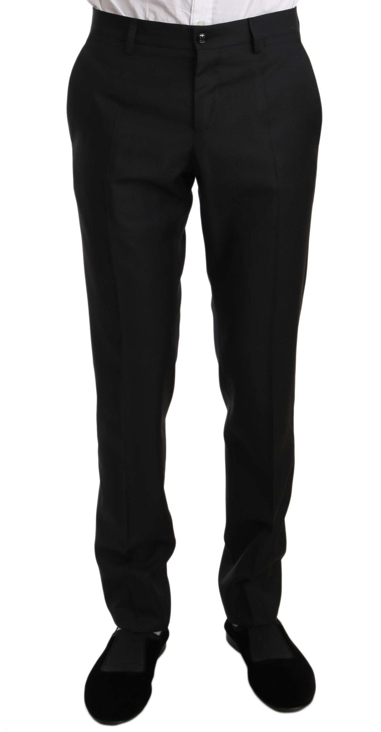 Dolce & Gabbana Men's Trousers Black PAN61124 - IT48 | M