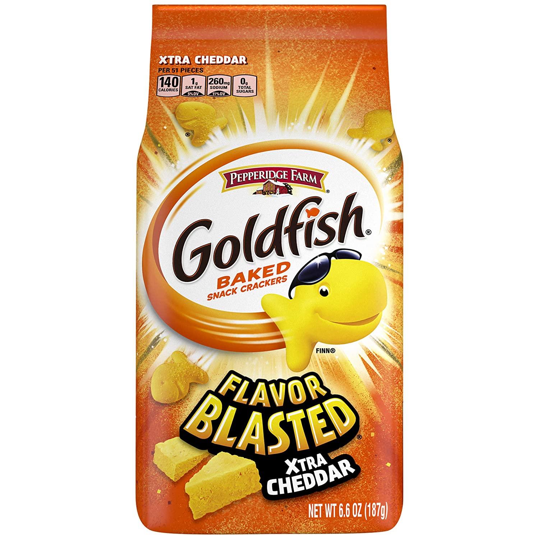 Goldfish Flavor Blasted Xtra Cheddar 187gram