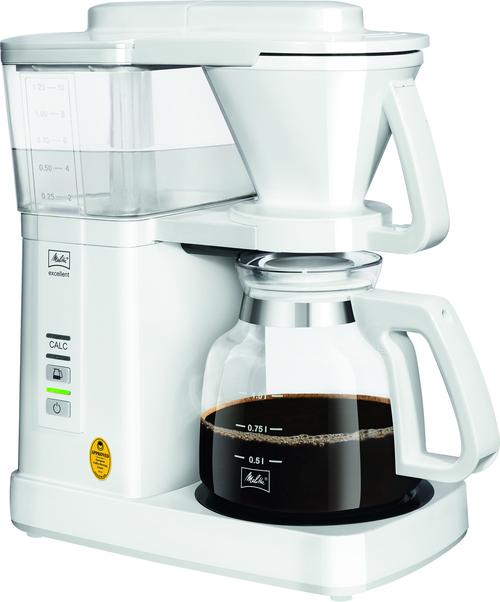 Melitta Excellent 5.0 White Kaffebryggare - Vit