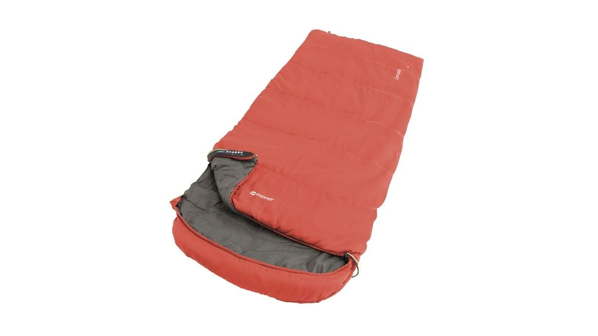 Outwell - Campion Lux Sleeping Bag 2021 - Red (230356)