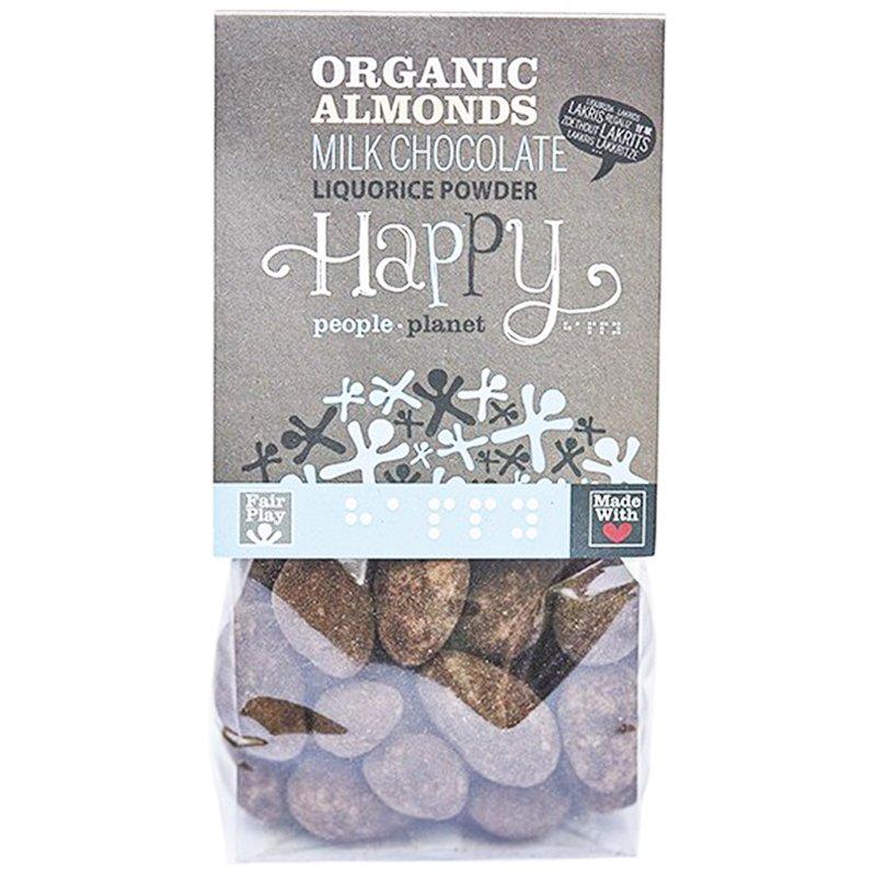 Mandlar Choklad & Lakritspulver 120g - 75% rabatt