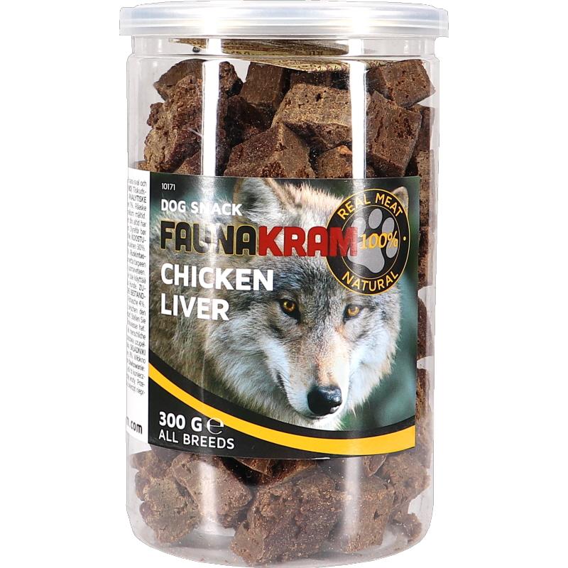 Dog Snack 100% Kycklinglever - 75% rabatt