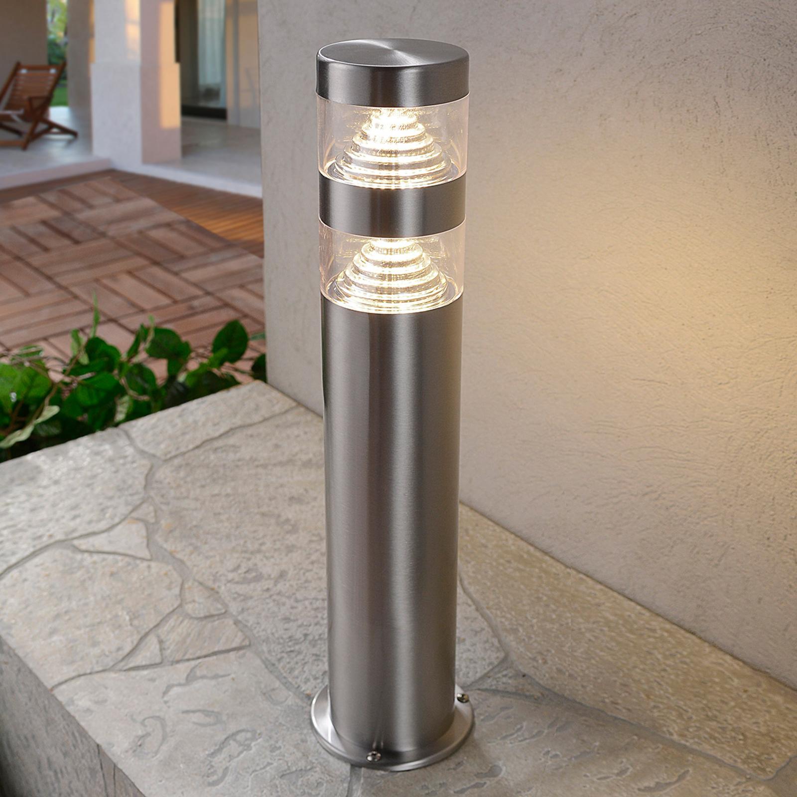 LED-pollarivalaisin Lanea ruostum. terästä, 40 cm