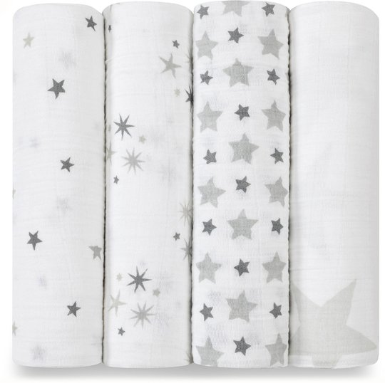 Aden + Anais Swaddle Twinkle 4-pack
