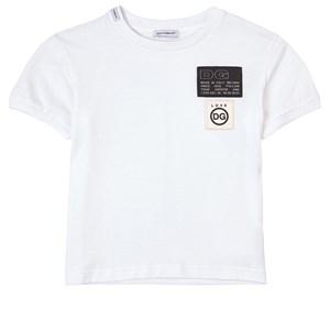 Dolce & Gabbana Logo T-shirt Vit 4 år