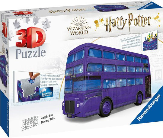 Ravensburger 3D-Puslespill Harry Potter Nattbuss 216 Brikker