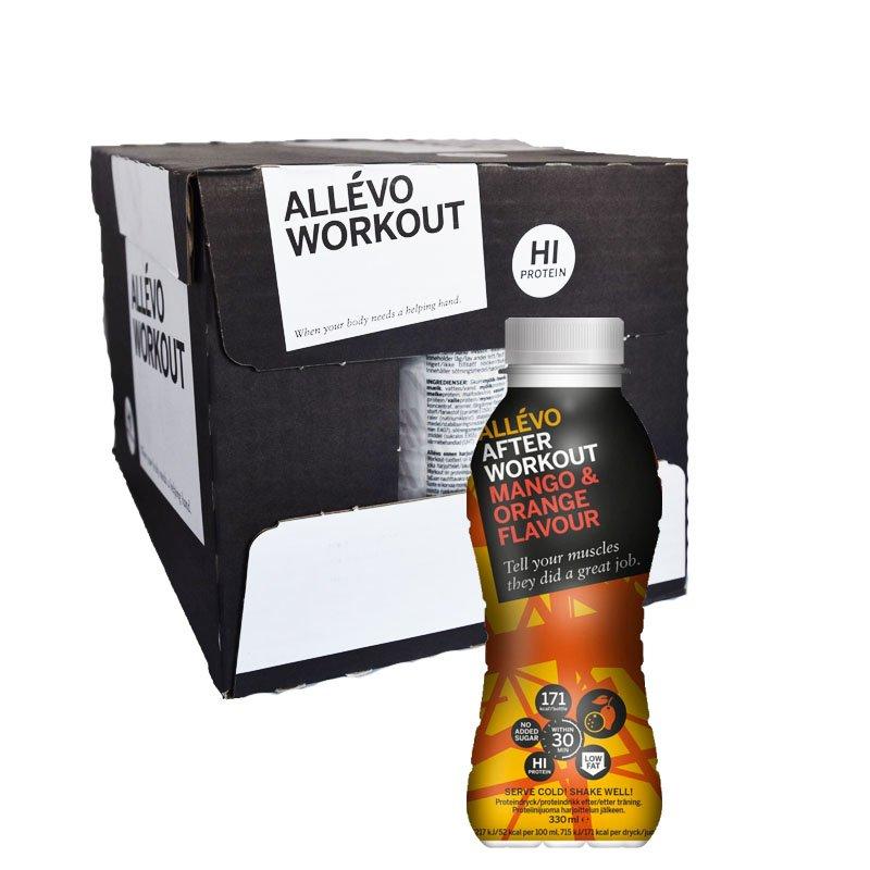 Laatikko: Proteiinijuoma, Mango & Appelsiini 12 x 300 ml - 63% alennus