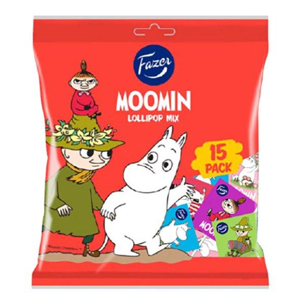 Fazer Mumin Godisklubbor Mix - 15-pack