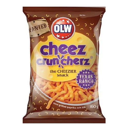 OLW Cheez Cruncherz Texas Ranch - 160 gram