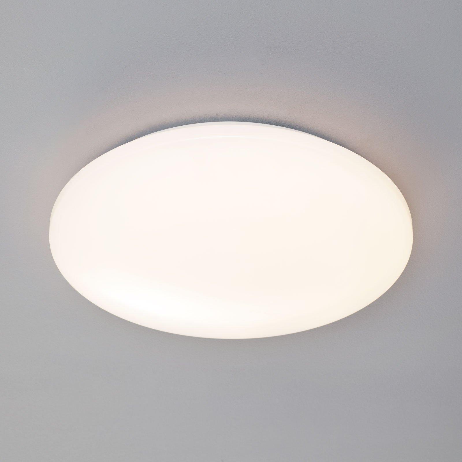 LED-taklampe Pollux, bevegelsessensor, Ø 40 cm