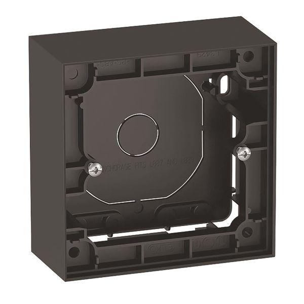 Elko Plus Forhøyningsramme 35 mm, svart 1 enhet