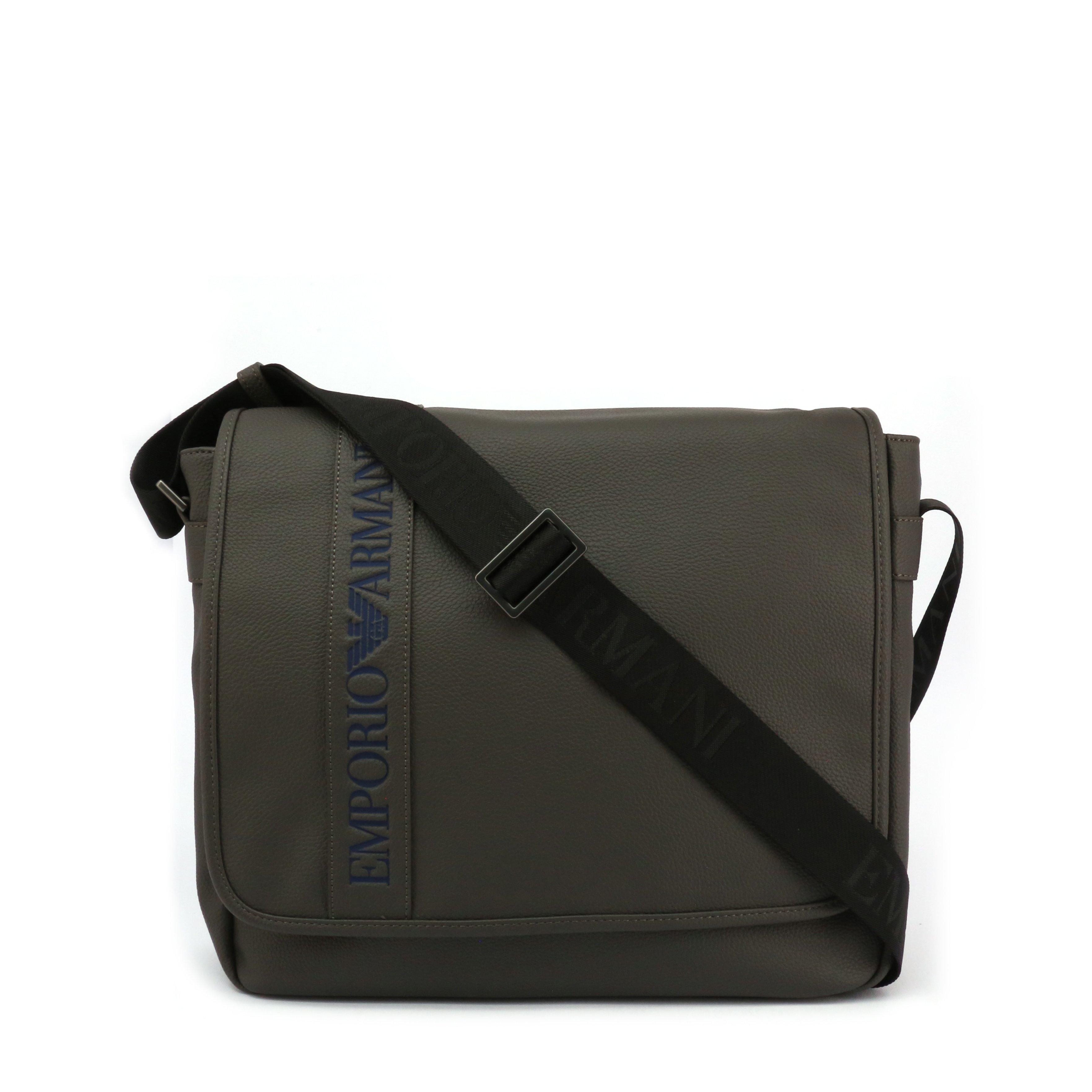Emporio Armani Men's Crossbody Bag Black Y4M173-YG89J - grey NOSIZE