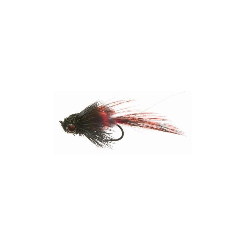 Elritse Black/Red #8 Kjøp 12 fluer få gratis flueboks