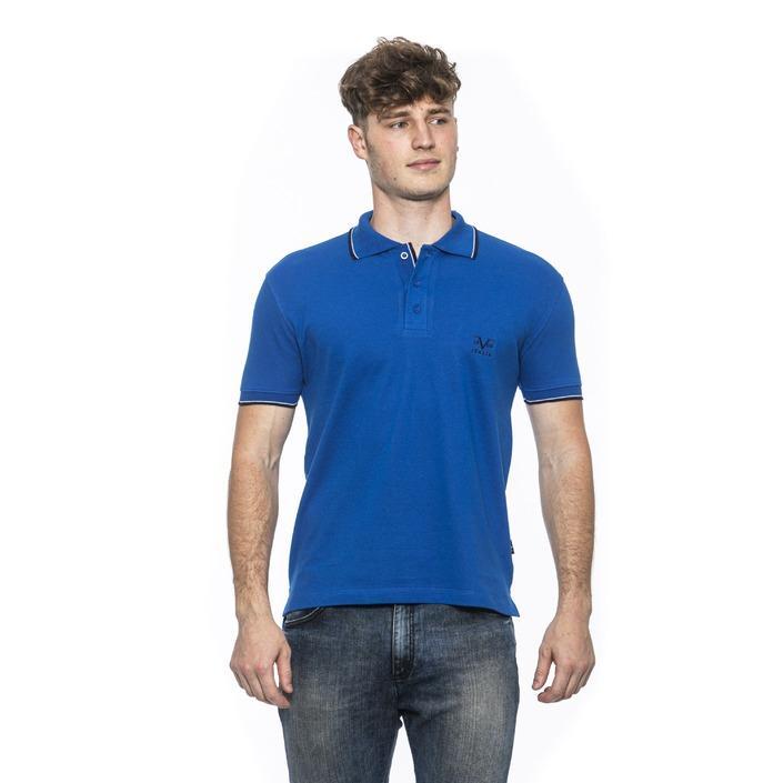 19v69 Italia Men's Polo Shirt Blue 185385 - blue XL