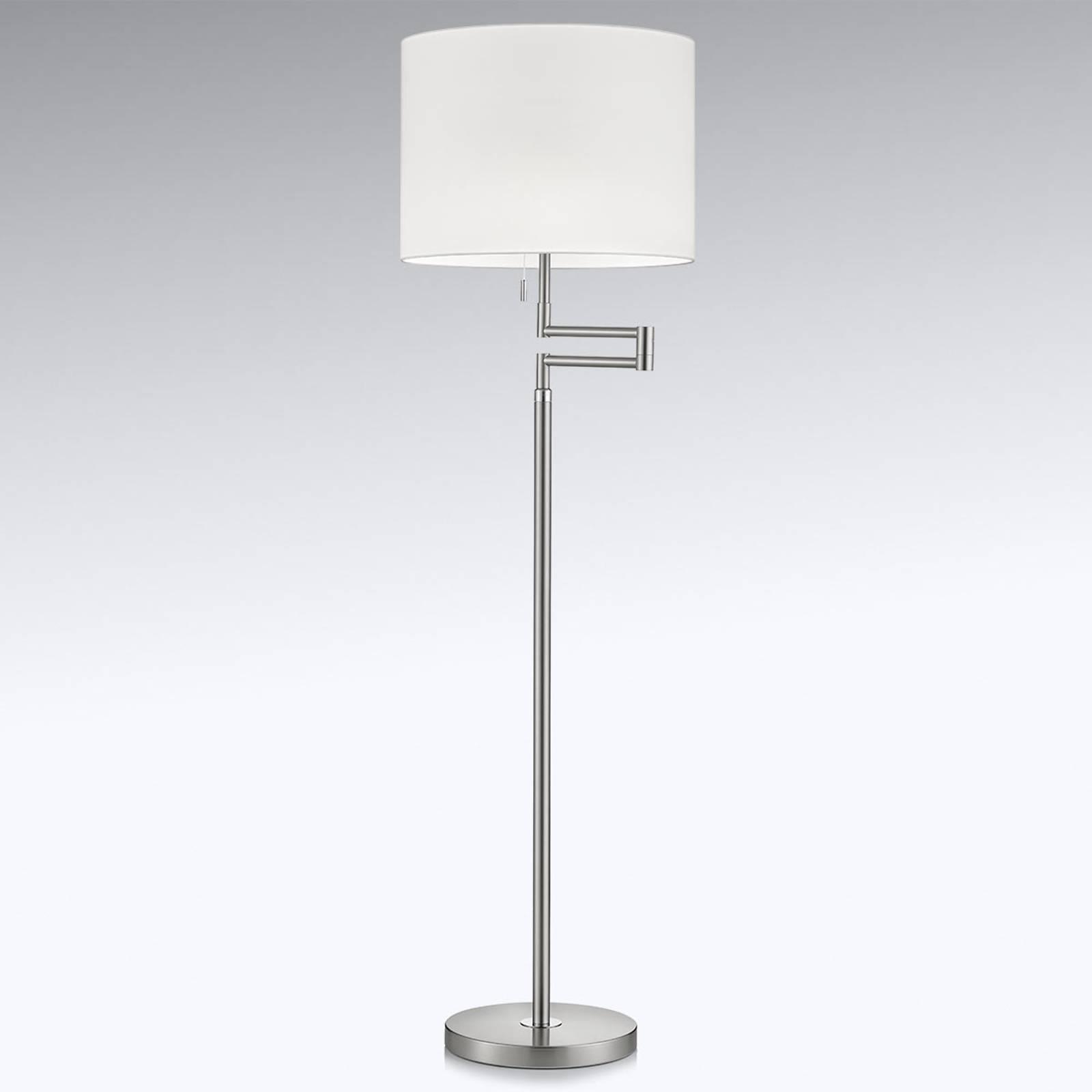 Lattiavalaisin Lilian LED-himmentimellä, nikkeli