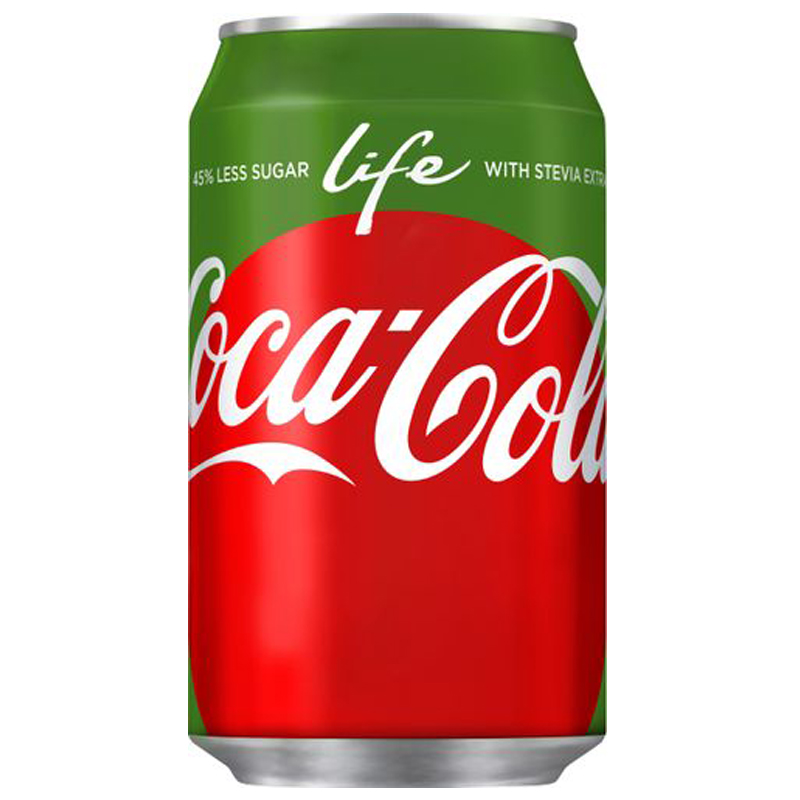 """Coca-Cola """"Life"""" 33cl - 22% rabatt"""