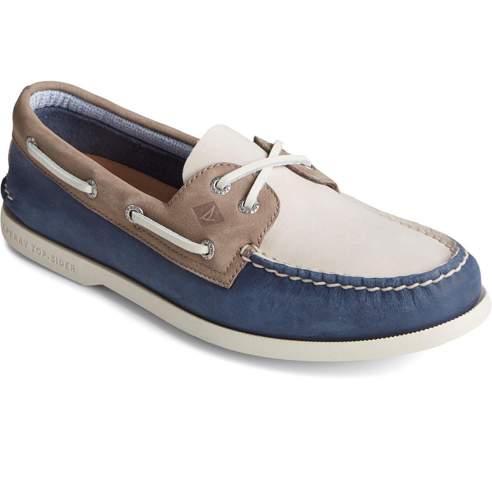 Sperry Men's Authentic Original PLUSHWAVE Boat Shoe Various Colours 31525 - Multicoloured 10