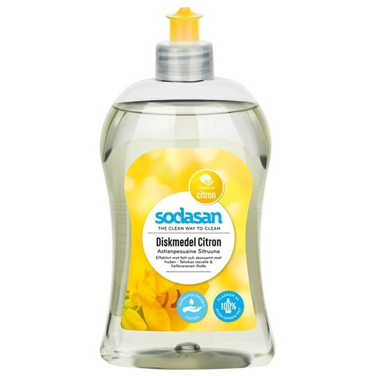 Sodasan Diskmedel Citron, 500 ml