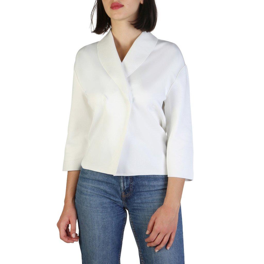 Armani Jeans Women's Blazer White 3Y5G83 5J1LZ - white 40 EU