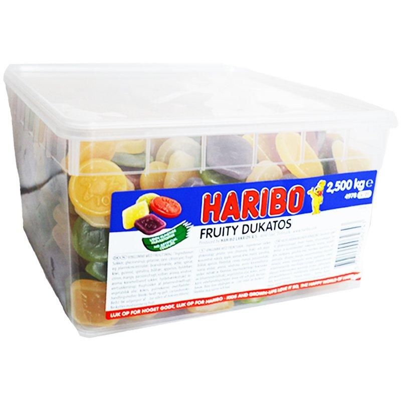 "Hel Låda Godis ""Fruity Dukatos"" 2,5kg - 72% rabatt"