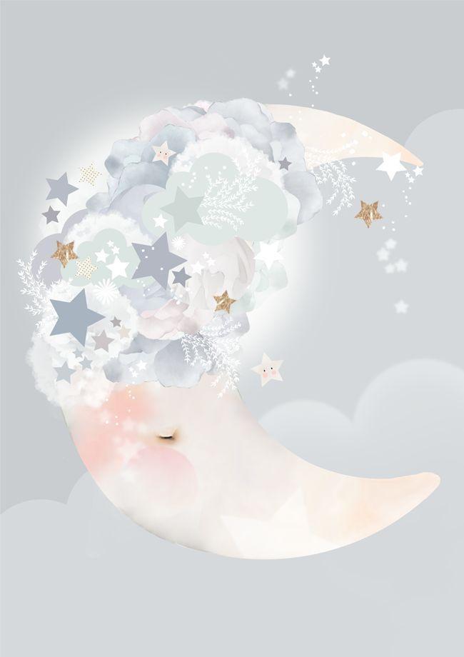 Schmooks Poster Moon Dreams